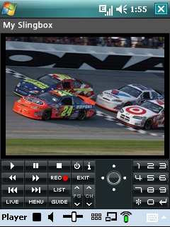 SlingPlayer Software for Microsoft Windows Mobile 6