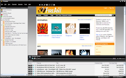 FireAnt Screenshot
