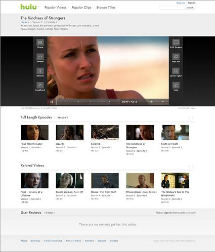 Hulu Screenshot 2