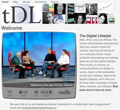 Apple IPTV Channel Launched | The Digital Lifestyle Offers 24Hrs A Day For Apple Fanatics