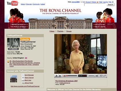 The Royal Family Team Up With YouTube | The Queen Unveils 'The Royal Channel'