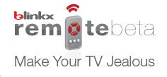 Blinkx Remote Logo
