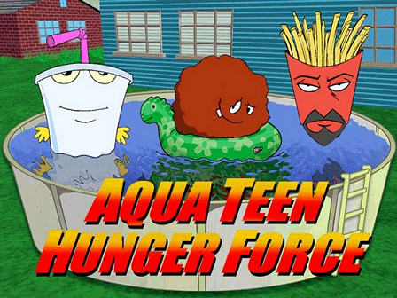 Aqua Teen Hunger Force is an oddball humor animated TV show that airs on the ...
