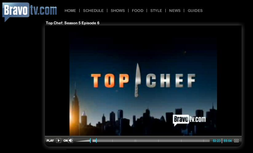 Watch 'Top Chef' full-episodes on BravoTV.com