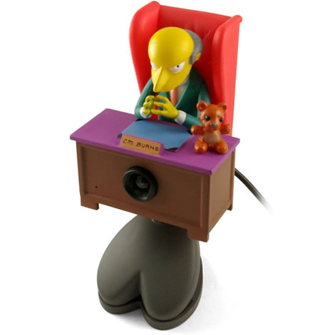 Mr. Burns USB Webcam