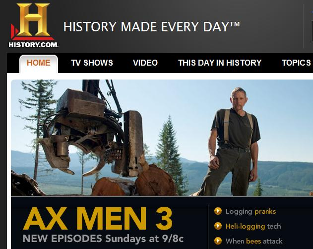 History Channel Online - Offering Free Full-Length Episodes and much more