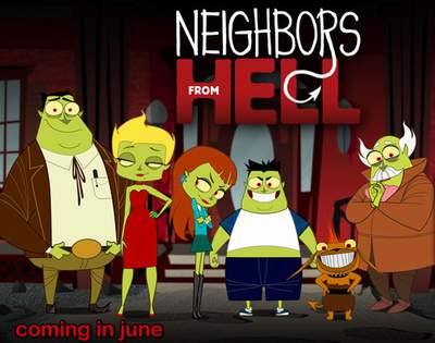 affiche Neighbors From Hell