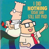Dilbert Got Paid Cartoon