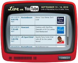 YouTube Live Logo