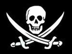 Piracy Skull and Crossbones